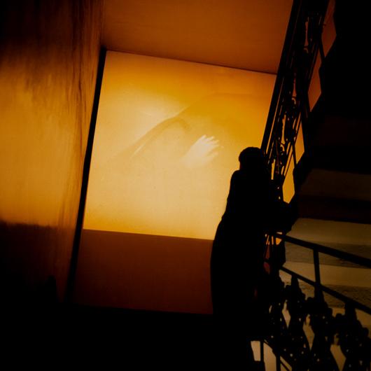 EPHEMER / berlin biennale, Postfuhramt / 1997/98, /  Camera Obscura – Slideprojection / 80 images /projection on 275 cm x 275 cm